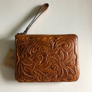 Patricia Nash Cassini Tooled Wristlet